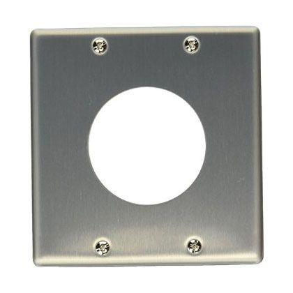 新金属プレートφ58.5(コンセントプレート)   WN9515
