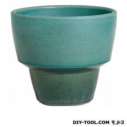 プラスガーデン 植木鉢アダラ M 548-23 ターコイズ