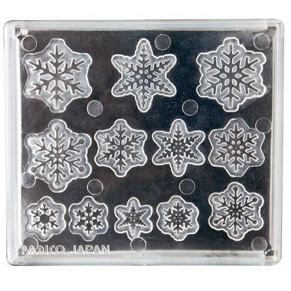 ソフトモールド雪の結晶