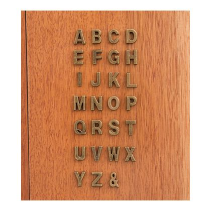 アルファベットパーツM  奥0.5×高1.8cm 62866