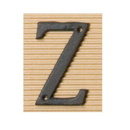 ポッシュリビング アイアンアルファベットZ 奥0.5×高8cm 62398 アンティーク ガーデニング デコレーション