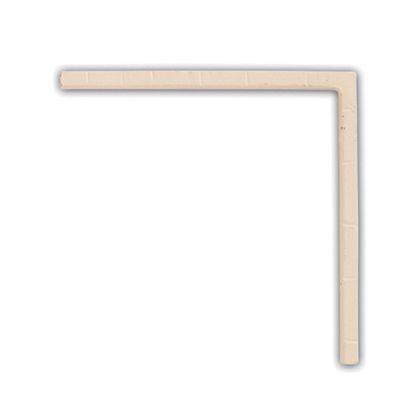 アイアンブラケット ホワイト 巾1×奥12.5×高12.5cm 62785