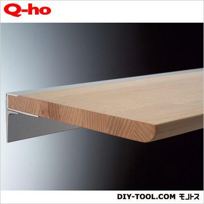 レールシェルフ四万十檜  棚板平面部寸法160×450mm T1511