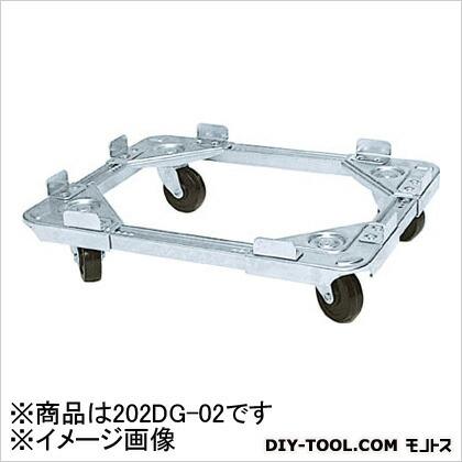 ルート コンテナ台車ボーイ202DG型(導電仕様)最大410×510 202DG-02