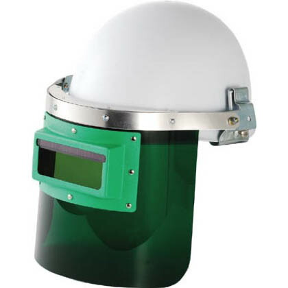 自動遮光溶接面防災面型(ヘルメット取付タイプ)   GM-HS2