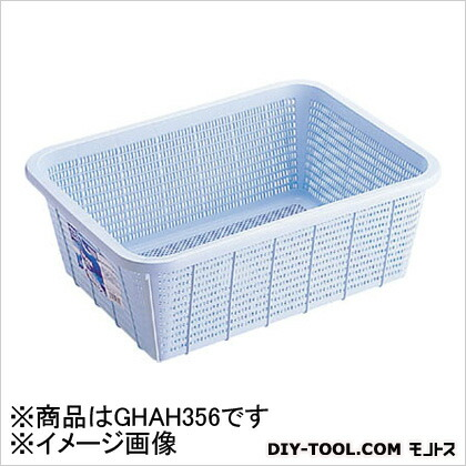 リス H&HキッチンバスケットDL青 B GHAH356