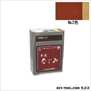 弁慶なごみベンガラ塗料No.2色  4L N2-04