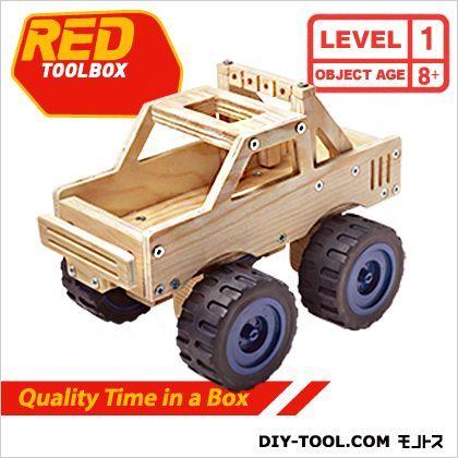 モンスタートラック工作キット  約L23.5×W13.5×H14cm K078