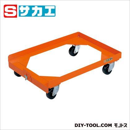 サカエ コンテナ台車 オレンジ S3DOR