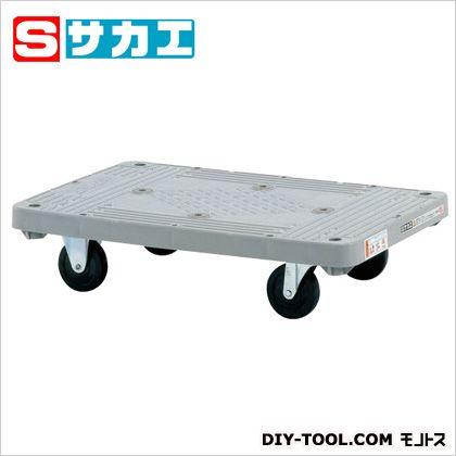 サカエ 樹脂平台車 グレー MHT10