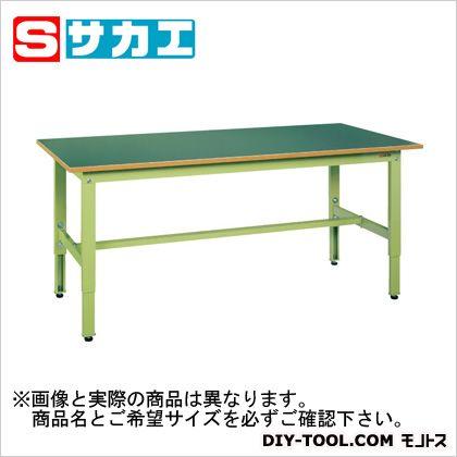【送料無料】サカエ 軽量高さ調整作業台TKK6タイプ グリーン TKK6127F