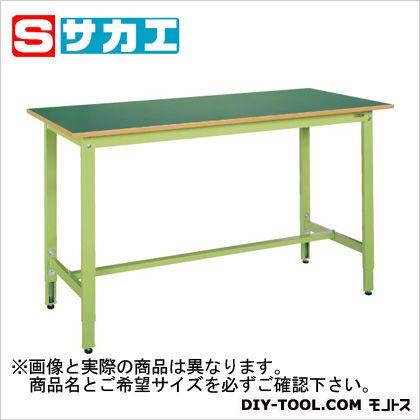 【送料無料】サカエ 軽量高さ調整作業台TKK9タイプ グリーン TKK9186F
