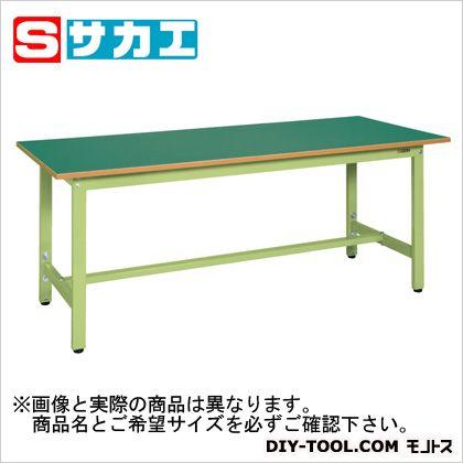 【送料無料】サカエ 軽量高さ調整作業台TKSタイプ グリーン TKS127F