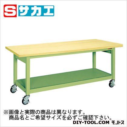 【送料無料】サカエ 重量作業台KWBタイプ(移動式) KWBG128