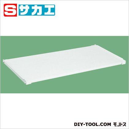 【送料無料】サカエ 作業台用オプション固定棚(パールホワイト) ホワイト KK1890KW