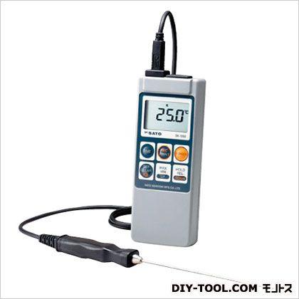 【送料無料】SATO メモリ機能付・防水デジタル温度計/8080-00 SK-1260/HONTAI