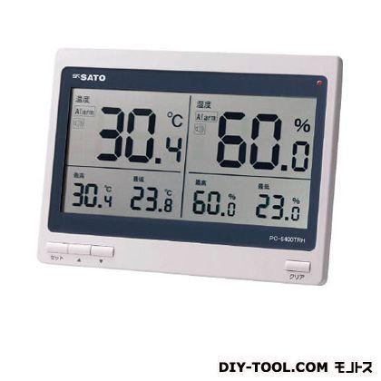 【送料無料】佐藤 デジタル温湿度計PC−5400TRH 262 x 234 x 32 mm PC-5400TRH