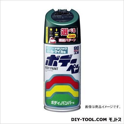 ボデーペン(メタリック・マイカ)純正カラーNo.6A5 ブラックグリーンM  T-140