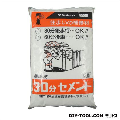 30分間セメント  1.3kg C30-1