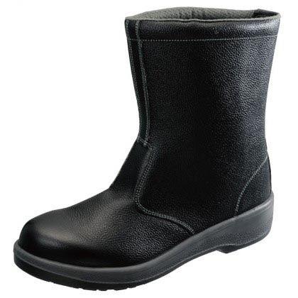 【送料無料】シモン 安全靴半長靴7544黒24.5cm 321 x 284 x 120 mm 7544N24.5