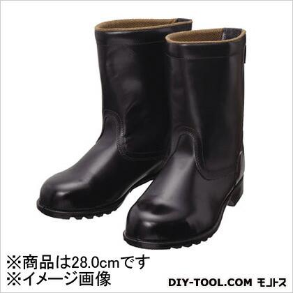 安全靴半長靴FD4428.0cm   FD44-28.0