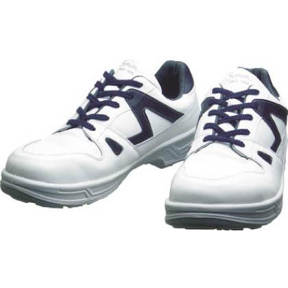 【送料無料】シモン 安全靴短靴8611白/ブルー25.0cm 318 x 175 x 120 mm 8611WB-25.0 1