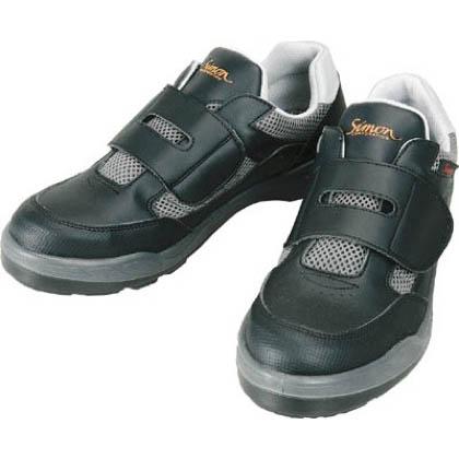 シモン プロスニーカー短靴8818ブラック24.5cm 8818-24.5