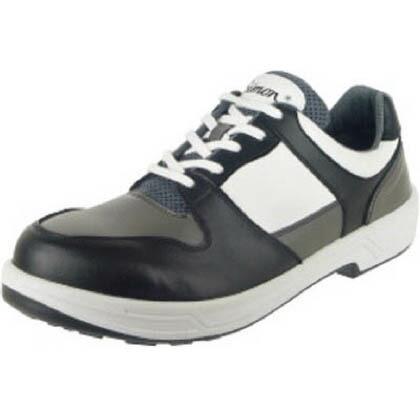 シモン トリセオシリーズ短靴黒/グレー25.5cm 8512BK/GR-25.5