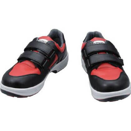 【送料無料】シモン トリセオシリーズ短靴赤/黒23.5cm 313 x 183 x 124 mm 8518REDBK23.5