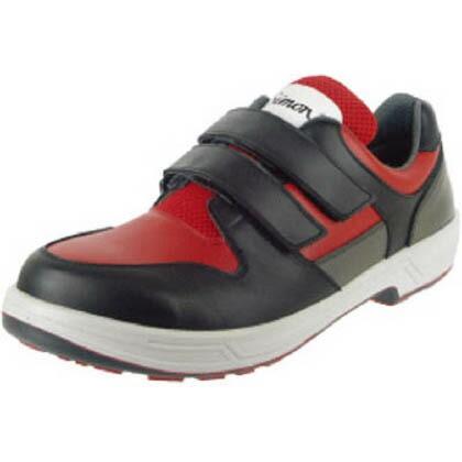 トリセオシリーズ短靴赤/黒28.0cm   8518RED/BK-28.0