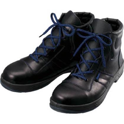 シモン 安全靴編上靴8522黒23.5cm 8522-23.5