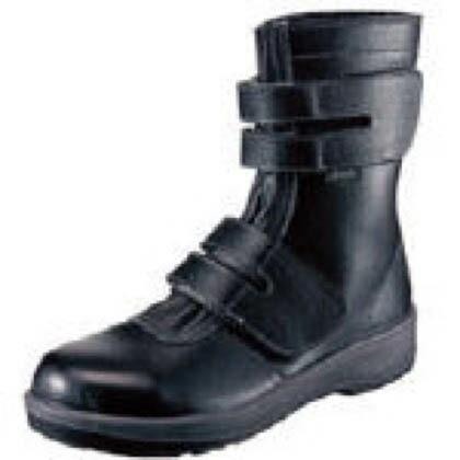 【送料無料】シモン 安全靴長編上靴7538黒24.5cm 321 x 282 x 116 mm