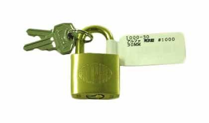 南京錠  30MM 1000-30