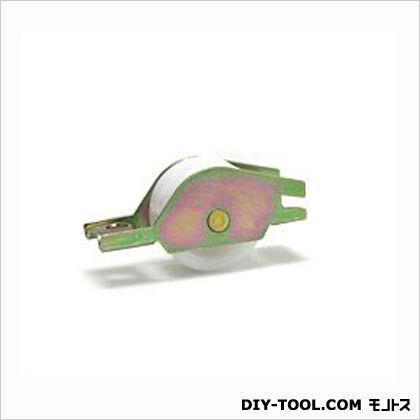 ACE(エース) トステム純正部品雨戸戸車左右兼用DAN単体・ルーバー単体ドブ溝用雨戸-トステム-202 1.6×4.8cm