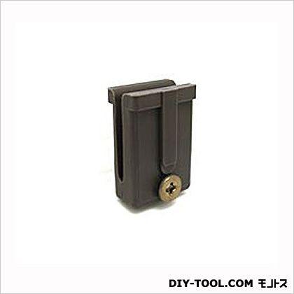 トステム純正部品網戸ガイド太陽網戸用網戸-104 ブロンズ 1×2.45×1.7cm