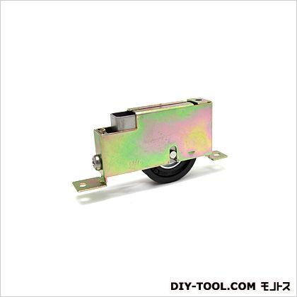 サッシ用戸車ナイロン樹脂製店舗・玄関用戸車  1.5×10.8cm S-104-4