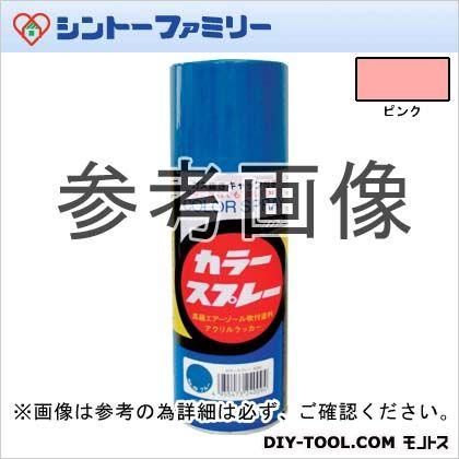 【送料無料】シントーファミリー カラースプレー ピンク 300ml 45 12本