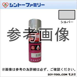 【送料無料】シントーファミリー シントー耐熱用スプレー300ML シルバー 60 x 60 x 189 mm 12本