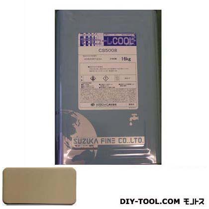 セラビューレCOOLシリコン樹脂系単層弾性仕上塗材  16kg CS3226