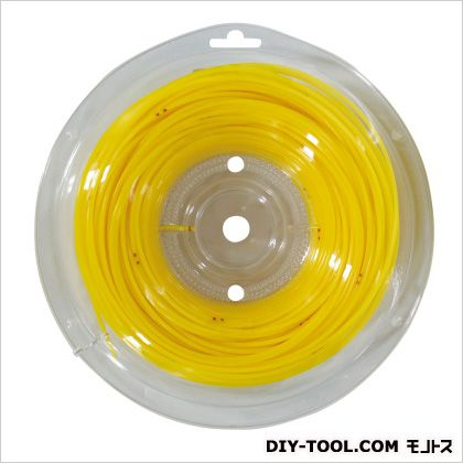 新ダイワ ナイロンコード 黄色 太さ*長さ:2.4mm*50m X412-000200