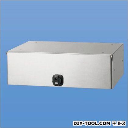【送料無料】神栄ホームクリエイト 郵便受箱(横型・ダイヤル錠付)前入後出型 SMP-30-FR 0