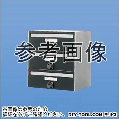 【送料無料】神栄ホームクリエイト 郵便受箱(連結型・ダイヤル錠付)前入前出型 SMP-13-4 0