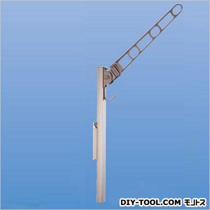 【送料無料】神栄ホームクリエイト バルコニー物干金物(横収納・スライド型) ステンカラー SK-700YSLP-SC 1本