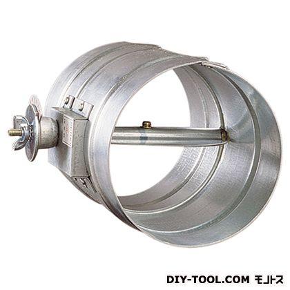 【送料無料】西邦工業 ステンレス製風量調整用ダンパーフューズ無しダクト接続型   VD100S  換気口部品換気口