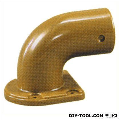 シクロケア 手すり屋内用樹脂ブラケットR型左 チーク 379