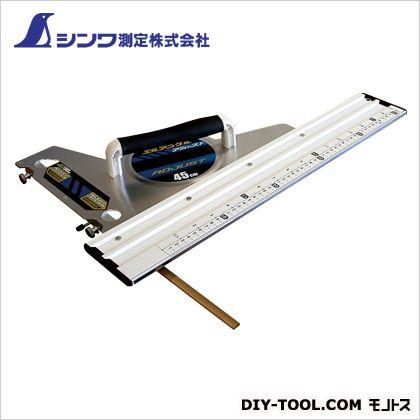 シンワエルアングルアジャスト45cm併用目盛角度調整付  75×350×592mm 77370