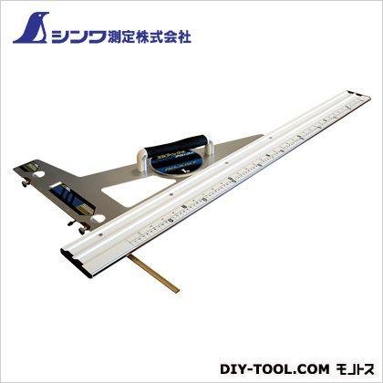 シンワエルアングルアジャスト1m併用目盛角度調整付  75×455×1162mm 77373