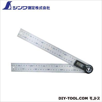 シンワデジタルプロトラクター30cm(ホールド機能付)  317×35×20mm 62496  個