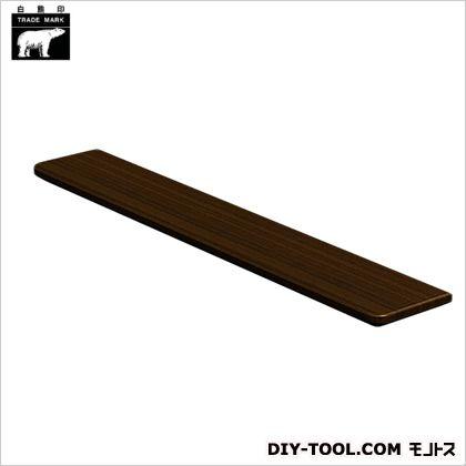 集成材棚板C形 ダークオーク 110×600mm TG-102