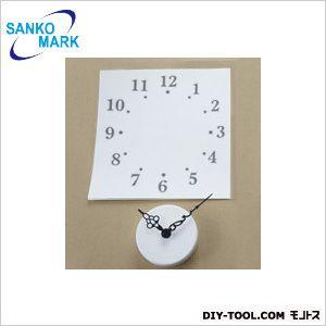 時計と数字シール エキゾチック ウォールステッカー   PWS-130  枚
